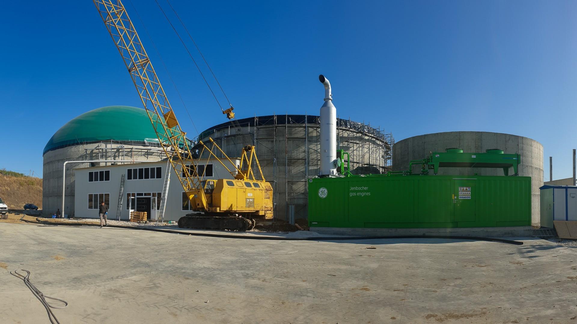 Биогазовая станция в селе Фырладены