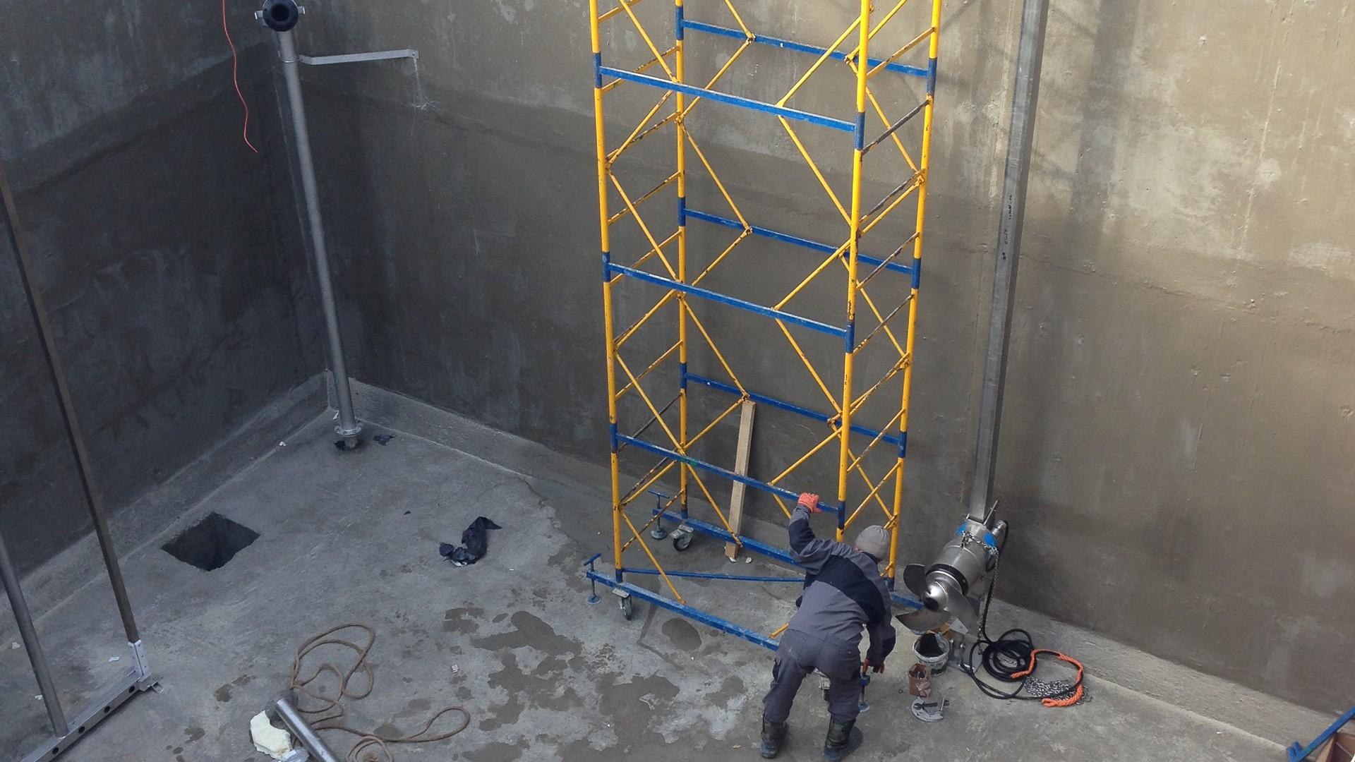 Наши проекты: промышленный резервуар, с. Мерены, Криуленкий район