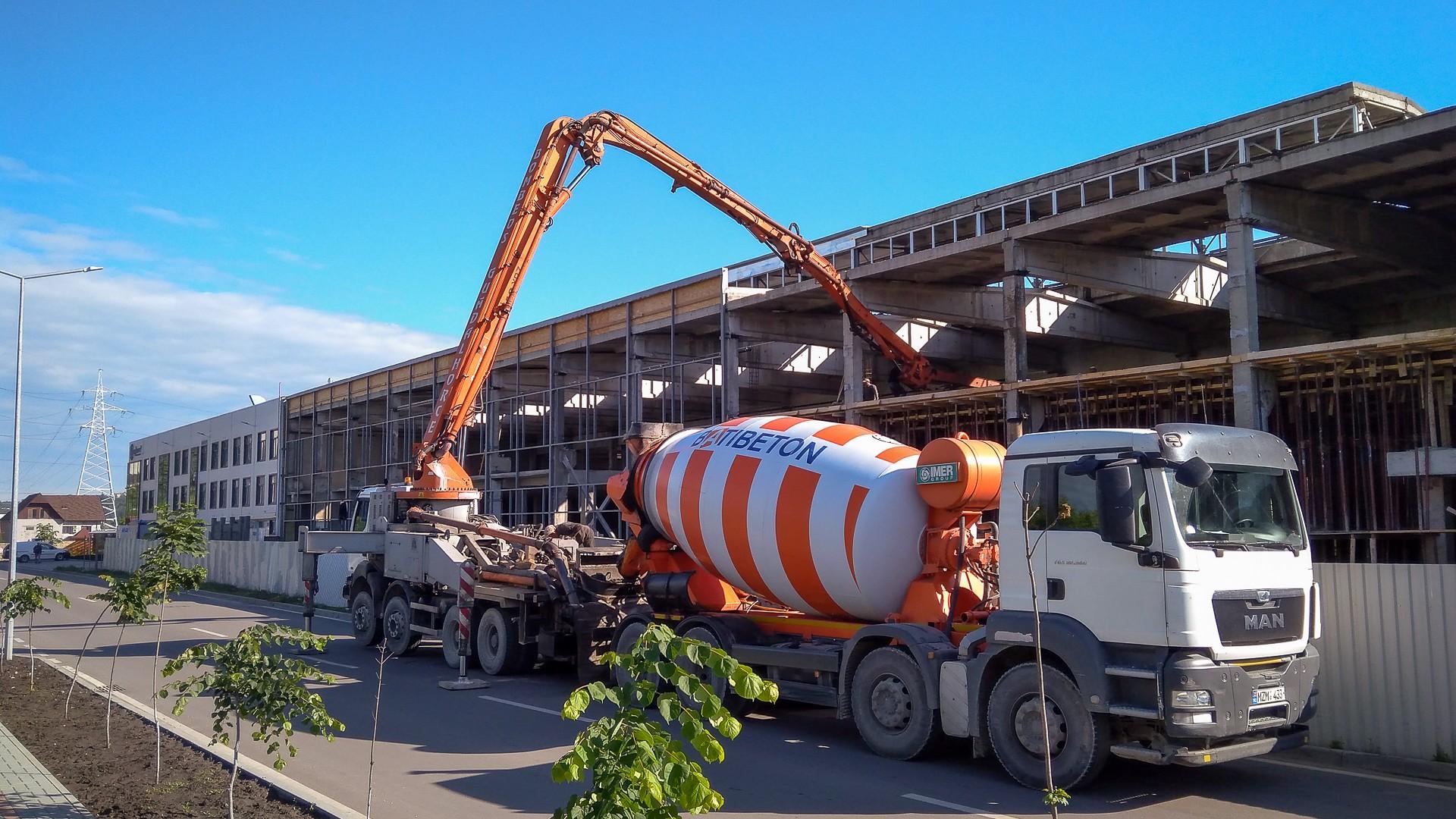 Наши проекты: реконструкция производственных помещений на Тракторном заводе в Кишинёве